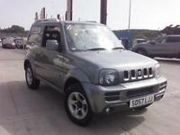 Suzuki JIMNY VVT 2007 Grey Estate Manual ** Finance Available even for bad credit **