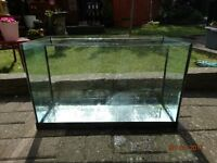 Fish tank for sale with intermittent leak