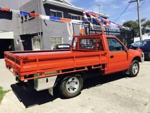 2000 Holden Rodeo TFR9 LX 5 Speed Manual Cab Chassis