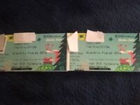 Electric Fields 2018 Tickets Weekend Camping Adult (2x), 31st August to 2nd September