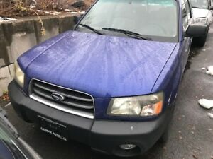 SUBARU FORESTER **AS IS**