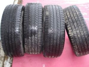 """4 used Michelin p245 60 r 18"""" tires for sale"""