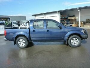 2010 Nissan Navara D40 ST Blue 6 Speed Manual Utility Vincent Townsville City Preview