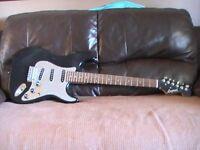 Legend electric guitar stratocaster style' ideal starter guitar.