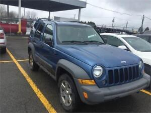 Jeep Liberty4x4 2005 $1750 carte de credit accepte  514-793-0833