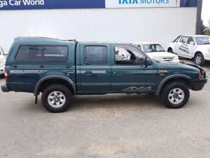 2001 Ford Courier PE XLT Crew Cab Green 5 Speed Manual Utility
