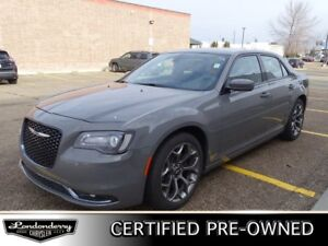 2018 Chrysler 300 S Accident Free,  Leather,  Heated Seats,  Bac