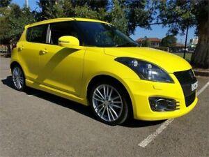 2012 Suzuki Swift FZ Sport Yellow 6 Speed Manual Hatchback Granville Parramatta Area Preview