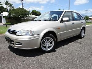 2001 Ford Laser KQ LXI Gold 5 Speed Manual Hatchback Bungalow Cairns City Preview