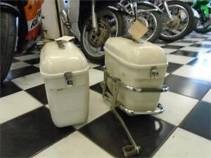 Shoei saddle bags with mounting frame
