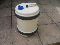 camping water barrel large