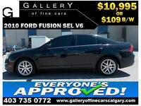 2010 Ford Fusion SEL $109 bi-weekly APPLY TODAY DRIVE TODAY