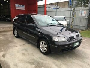 1999 Holden Astra TS Olympic Black Automatic Hatchback Clontarf Redcliffe Area Preview