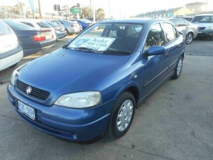 2002 Holden Astra TS City Blue 4 Speed Automatic Sedan Bankstown Bankstown Area Preview
