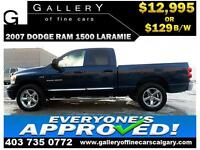 2007 DODGE RAM LARAMIE CREW $129 bi-weekly APPLY NOW DRIVE NOW