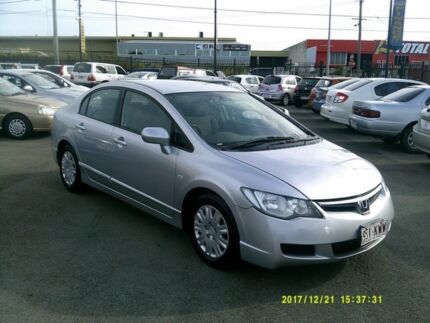 2008 Honda Civic MY07 VTi Silver 5 Speed Automatic Sedan Coopers Plains Brisbane South West Preview