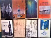 TERJE RYPDAL & CHASERS CARCASS COHERENTS TERMINAL CHEESECAKE FRANK PERRY PERSUASION A CASSETTE TAPES