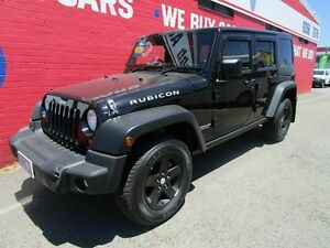 2011 Jeep Wrangler JK MY2011 Unlimited Sport Black 6 Speed Manual Softtop Welshpool Canning Area Preview