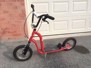 The Curb Blaster kick push scooter by Norco