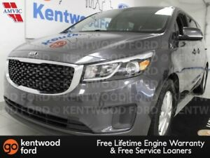 2016 Kia Sedona LX FWD with heated power seats and a back up cam
