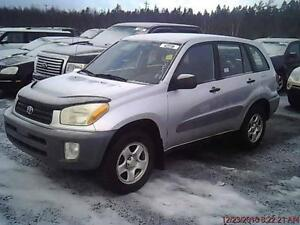2001 TOYOTA RAV4 AUTOMATIQUE CLIMATISEE 4 CYLIN PROPRE 186000KM