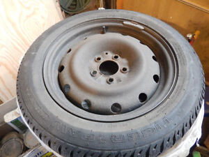 Slightly Used Uni-Royal Winter Tires with Rims