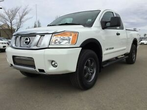 2015 Nissan Titan PRO-4X KING CAB 4X4 Accident Free,  Navigation