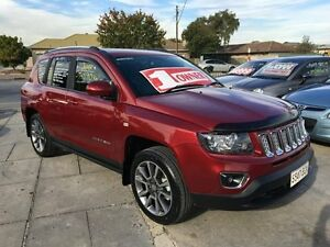 2013 Jeep Compass MK MY14 Limited Burgundy 6 Speed Sports Automatic Wagon Park Holme Marion Area Preview