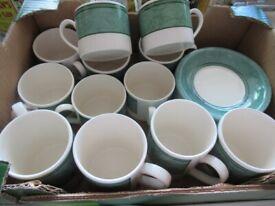 Crockery - Mugs, Cups Saucers, Plates