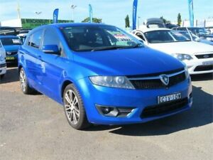 2013 Proton Suprima S CR GXR Blue Constant Variable Hatchback Minchinbury Blacktown Area Preview