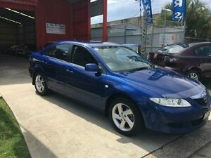 2005 Mazda 6 GG1031 MY04 Classic Blue 5 Speed Manual Hatchback Clontarf Redcliffe Area Preview