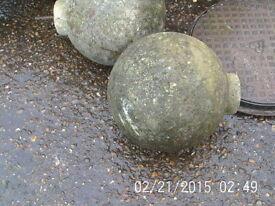 "Concrete Driveway Pillar Pier Cap Ball 13"""