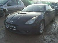TOYOTA CELICA 190bhp 2zz-fe 2004 BREAKING FOR SPARES TEL 07814971951 WE HAVE FEW IN STOCK