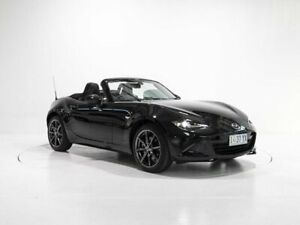 2017 Mazda MX-5 ND GT SKYACTIV-MT Black 6 Speed Manual Roadster Cooee Burnie Area Preview