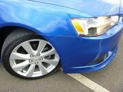 2014 Mitsubishi Lancer CJ MY15 GSR Sportback Lightning Blue 6 Speed Constant Variable Hatchback Strathmore Heights Moonee Valley Preview