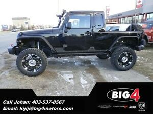 2013 Jeep Wrangler JK-8 CUSTOM PICK UP, LIFT, WHEELS & TIRES !