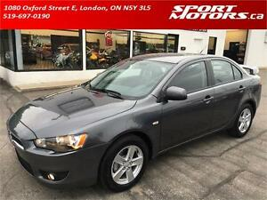 2008 Mitsubishi Lancer! New Brakes! Heated Seats! A/C! Keyless!