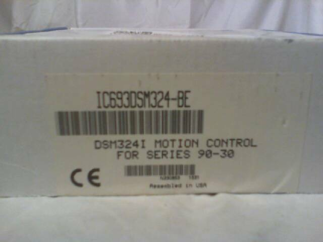 GE Fanuc IC693DSM324-BE 4-Axis Motion Control Module - Factory Sealed!