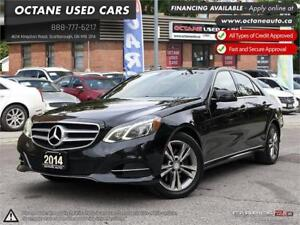 2014 Mercedes-Benz E 250 BlueTEC ACCIDENT FREE! ONE OWNER!