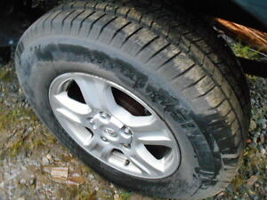 4  Toyota Truck Rims 18 inch
