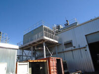 Cooling Tower And Water Proccessing Tank