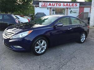 2011 Hyundai Sonata Limited/Leather/Roof/Bluetooth/Certified