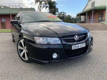 2005 Holden Commodore VZ SV8 Black 6 Speed Manual Sedan Mount Druitt Blacktown Area Preview