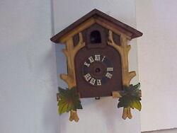Vintage Henry Coehler One Day Cuckoo Clock Incomplete parts repair M
