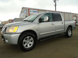 2004 Nissan Titan LE LUXURY PKG-HEATED LEATHER-DRIVES EXCELLENT