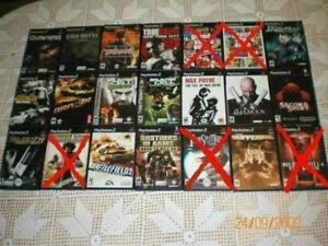 """Jeux""""Playstation 2""""!.."""
