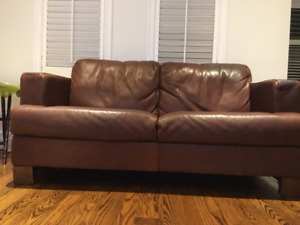 Rare find - Genuine Leather Couch