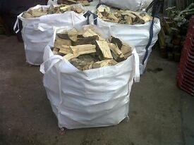 FIREWOOD LOGS - Seasoned dry mixed wood available. bulk bags/ truck loads/ kindling