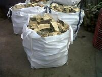 FIREWOOD LOGS - Seasoned dry mixed wood available. bulk bags/ truck loads/ kindling