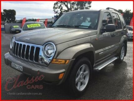 2006 Jeep Cherokee KJ MY05 Upgrade II Limited (4x4) Gold 4 Speed Automatic Wagon Lansvale Liverpool Area Preview
